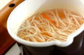 モヤシとニンジンの酢の物の作り方1