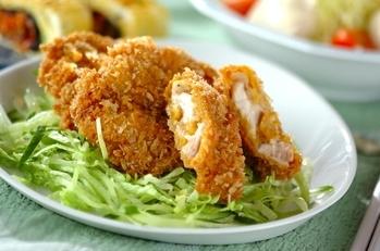 鶏肉のカレーフライ