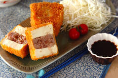 豆腐のソースカツ