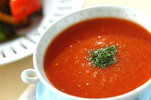 「トマトスープ」のレシピ10選◎ヘルシーから食べ応えアレンジまで
