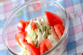 素麺サラダ