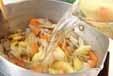 根菜キンピラ豚汁の作り方1
