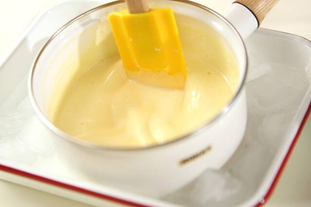 フルーツプリンの作り方の手順4
