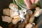 鶏コン炒め煮の作り方3
