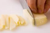 千切りポテト炒めの作り方1
