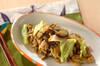 ナスと豚ひき肉のカレー炒めの作り方の手順