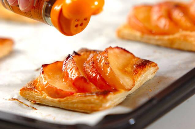のせるだけのリンゴ煮パイの作り方の手順7