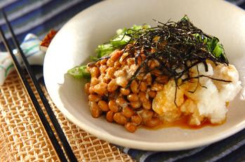 納豆のネバネバサラダ
