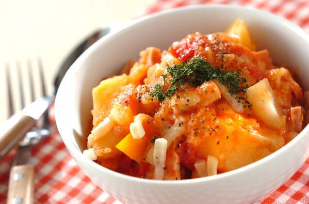 トマトチーズポトフ