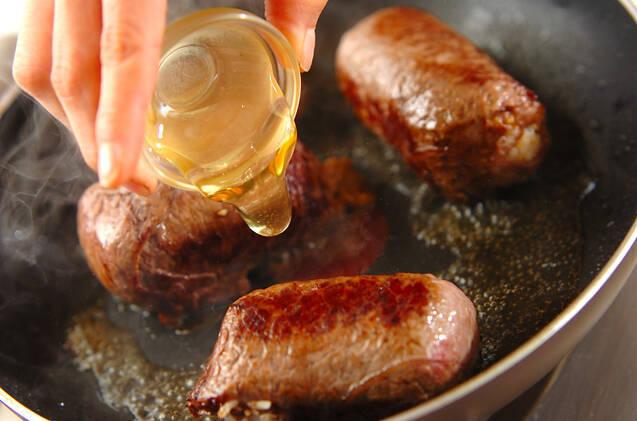 牛肉の大葉巻きにぎりの作り方の手順6