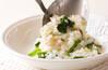 野菜ミルクリゾットの作り方の手順3