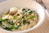 野菜ミルクリゾットの作り方の手順