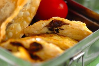 チーズ&プルーンオムレツ