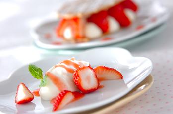 イチゴのマスカルポーネ