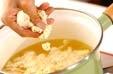 豆腐入り長芋スープの作り方2