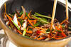 チャプチェ風素麺の作り方の手順8
