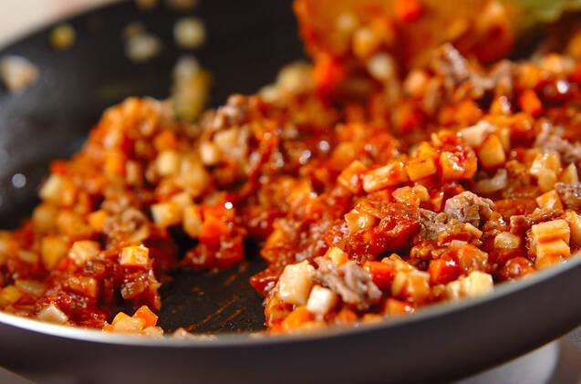 野菜たっぷり!ミートポテトの作り方の手順5