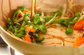 根菜のきんぴらの作り方2