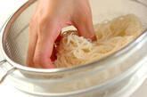 ベーコンとマイタケの素麺炒めの作り方5