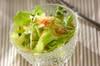 シャキシャキレタスのサラダの作り方の手順