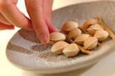 フライパンで炒りギンナンの作り方3