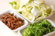 練り物と白菜の煮物の下準備4