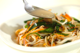 炒め素麺の作り方3