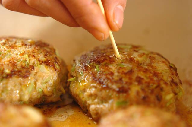 春キャベツ入りハンバーグの作り方の手順7