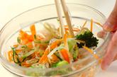 たっぷりゆで野菜サラダの作り方2