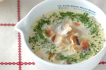 大根のクリームスープ