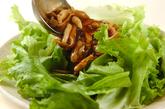 キノコのあんかけレタスのせの作り方3