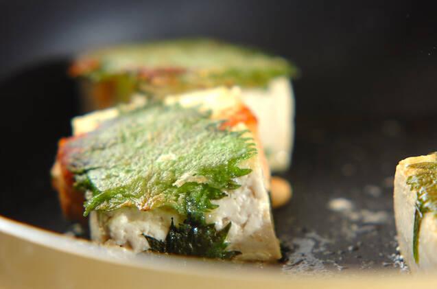 豆腐の明太はさみ焼きの作り方の手順5