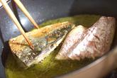 鯖サンドイッチの作り方3
