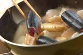 サンマと大根のピリッと煮の作り方6
