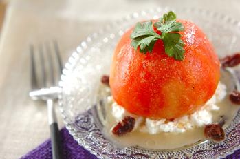 まるごとトマトのサラダ
