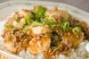 麻婆豆腐丼の作り方の手順