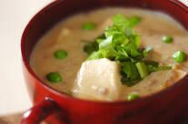 豆腐のボリュームスープ