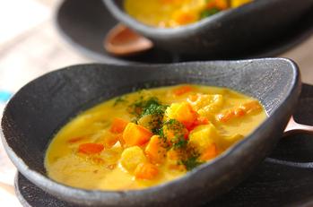風邪予防あったかスープ