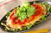 ジャーマンポテト・サラダ添えの作り方の手順