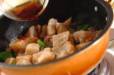 ちぎりコンニャクの甘辛炒めの作り方3