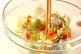 色々野菜のユカリもみの作り方5