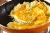 新玉ネギの卵焼きの作り方2
