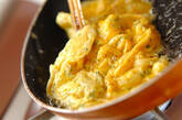 新玉ネギの卵焼きの作り方3