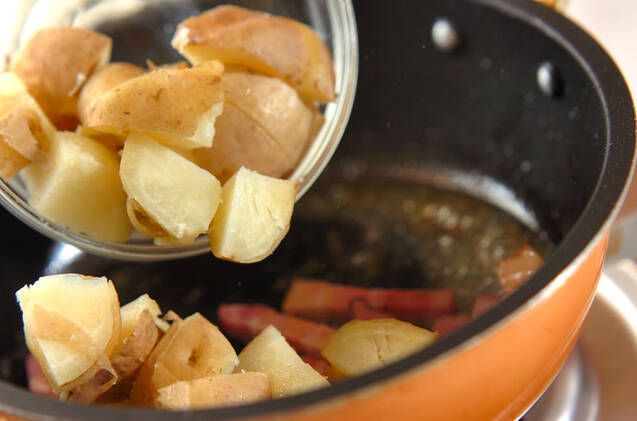 ジャーマンポテトデニッシュの作り方の手順11