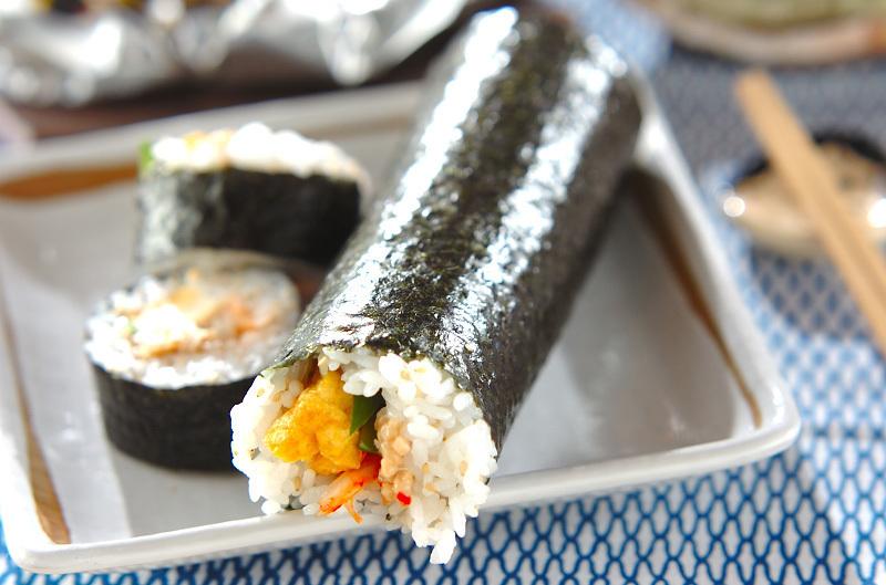 キムチ納豆恵方巻き