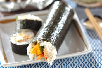 キムチ納豆巻き(恵方巻き)