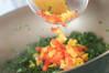 カレー野菜丼の作り方の手順4