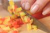カレー野菜丼の作り方の手順2