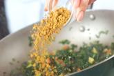 カレー野菜丼の作り方4