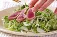 カツオのたたきサラダの作り方1
